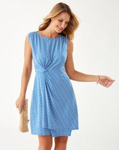 Goa Boa Paradisa Side-Twist Dress