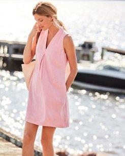 Daphne Linen-Blend Shift Dress