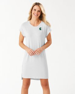 Collegiate Cassia Stripe T-Shirt Dress