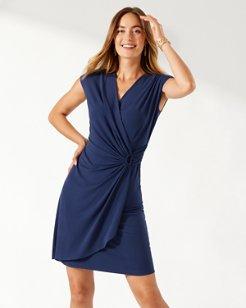 Clara Faux Wrap Dress