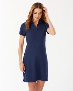 Paradise Classic Garment-Dyed Polo Dress