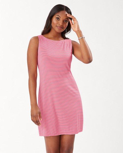 Sealight Cassia Stripe Sleeveless Sheath Dress