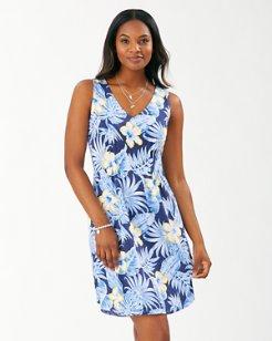 Bahama Blossoms Short Dress