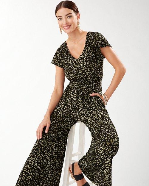 Wild One Short-Sleeve Jumpsuit