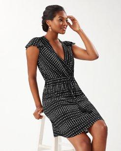 Dunmore Dot Short Dress