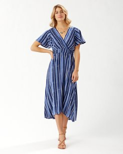 Fan Fair Stripe Maxi Dress