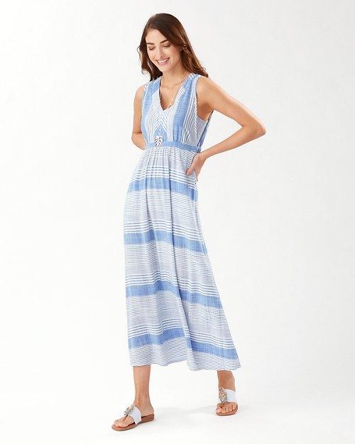 Lucia Isle Stripe Maxi Dress