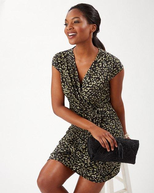 Clara Wild One Short-Sleeve Dress