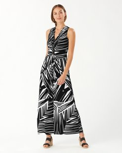 Bangle Stripe Carmela Maxi Dress