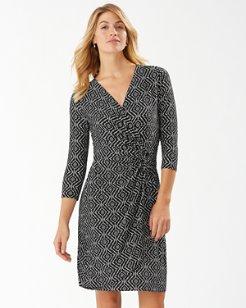 Clara Caldera Canyon 3/4-Sleeve Dress
