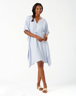 Island Soft® Sea Coast Caftan Dress