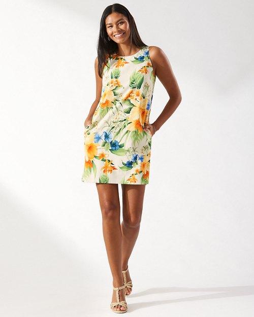 Canopy Kaleidoscope Silk Dress