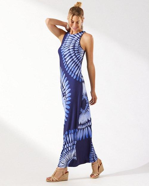 Aloha Burst Maxi Dress
