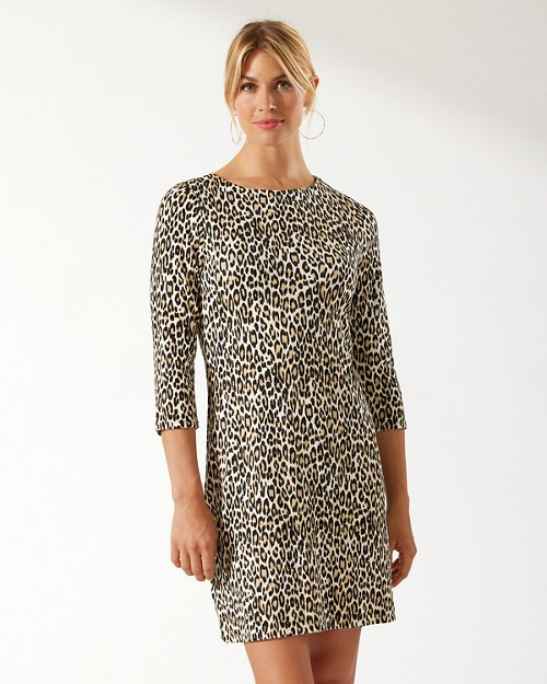 Darcy Cat's Meow 3/4-Sleeve Dress