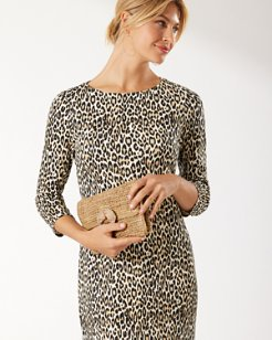 Darcy Cat's Meow 3/4-Sleeve Dress