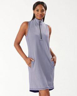 Alina IslandZone® Half-Zip Dress