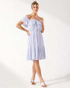 Aloha Avenue Off-the-Shoulder Short Dress