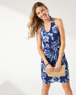 Clara Blossom Bay Halter Dress