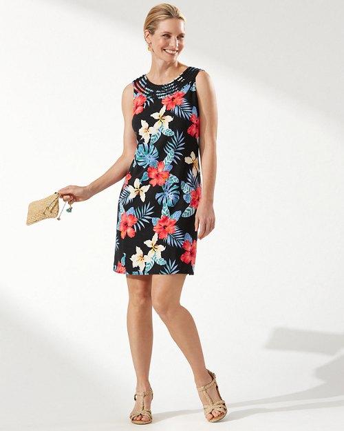 Bloomin' Views Shift Dress