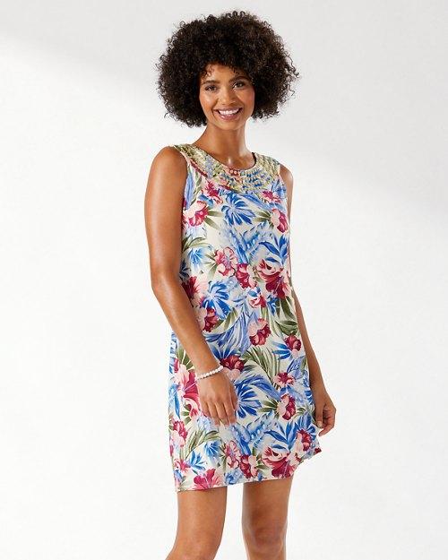 Floral Intent Shift Dress