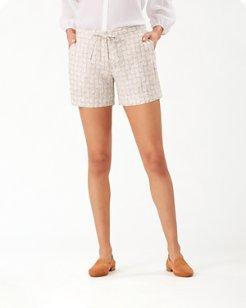 Fineapple Linen 5-Inch Shorts