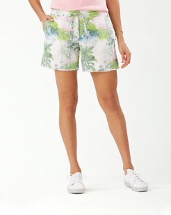 Island Hop 5-Inch Linen Shorts