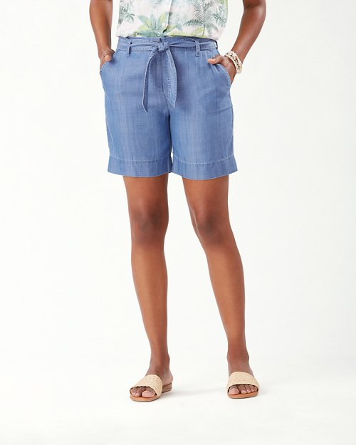 Chambray All Day 7-Inch Shorts