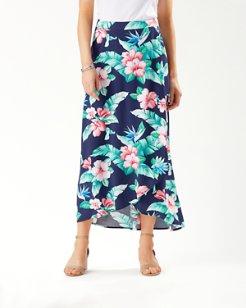 Floristic Approach Maxi Skirt