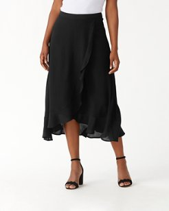 Oasis Waves Flounce Skirt