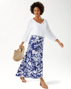 Floriana Twinned Maxi Skirt
