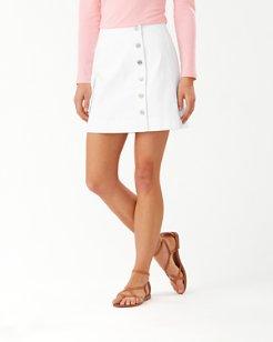 Ella Twill Short Skirt