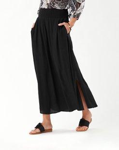 Caicos Crinkle Maxi Skirt