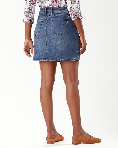 Boracay Indigo Short Skirt