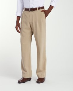 New St. Thomas Relaxed Double-Pleat Pants