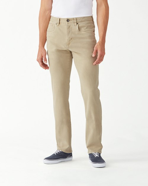 Boracay Brushed-Twill Jeans