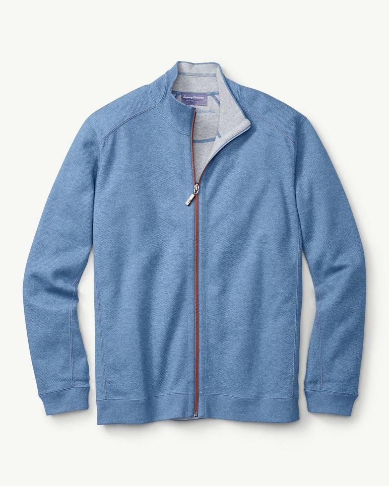 Flip Side Twill Reversible Full Zip Jacket