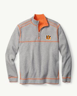 NFL Flip Side Pro Reversible Half-Zip Sweatshirt