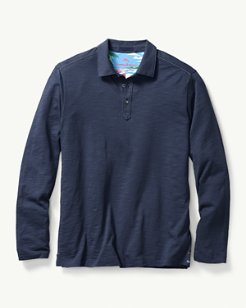 Portside Player Spectator Long-Sleeve Polo