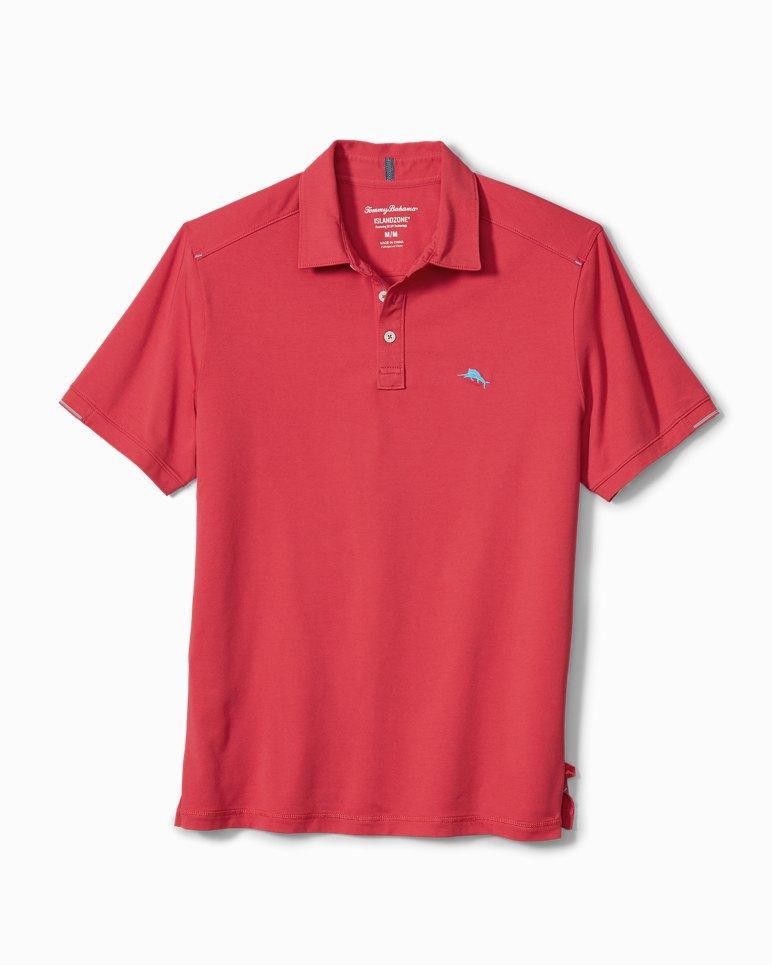 L New Tommy Bahama Men/'s IslandZone Polo Colors Short Sleeve XL Mult M