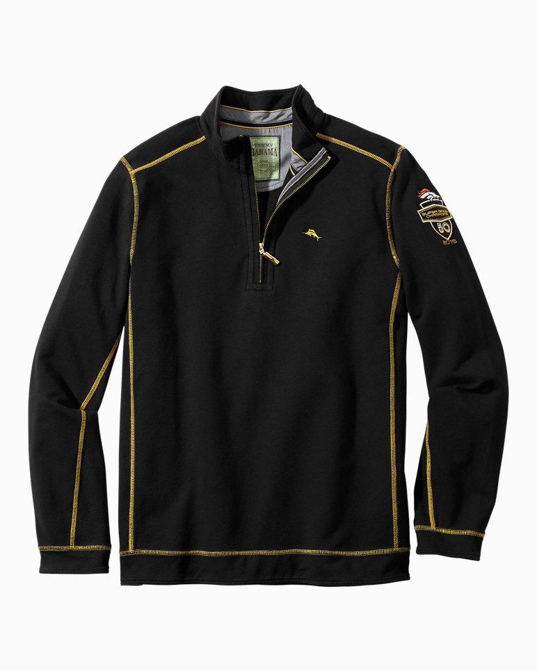 7069be18 NFL Denver Broncos Super Bowl® 50 Ben & Terry Half-Zip Sweatshirt