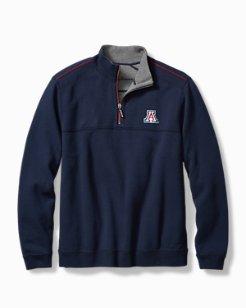 Collegiate Campus Flip Side Half-Zip Sweatshirt