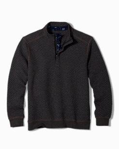 Quiltessential Half-Zip Sweatshirt