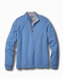 Flip Side Classic Reversible Half-Zip Sweatshirt