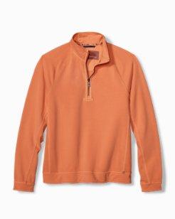 Ben And Terry Coast Half-Zip Sweatshirt