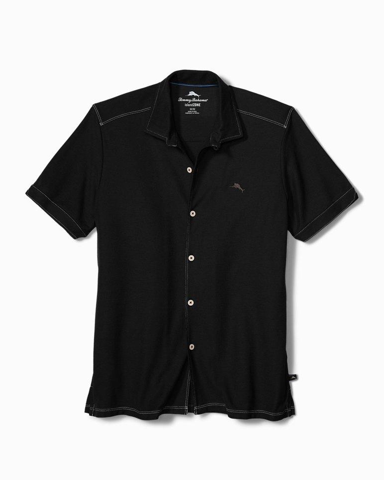 Main Image for Tropicool Piqué IslandZone® Knit Camp Shirt