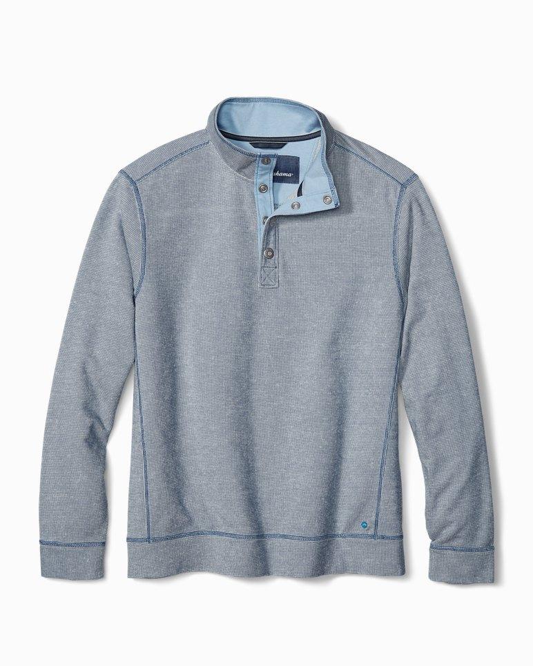 Main Image for Ocean Mist Snap-Mock Sweatshirt