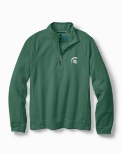 Collegiate Ben & Terry Half-Zip Sweatshirt