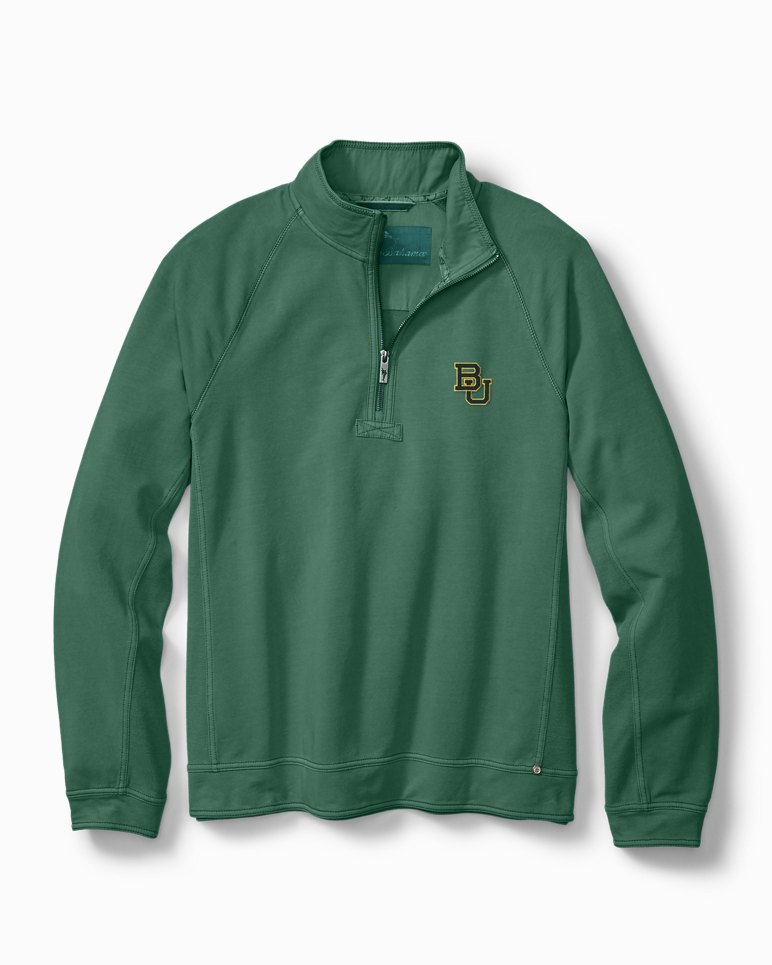 Main Image for Collegiate Ben & Terry Half-Zip Sweatshirt