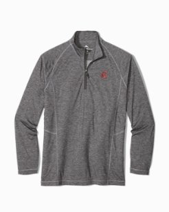 Collegiate Goal Keeper Half-Zip Sweatshirt