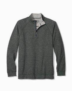 On The Double Reversible Half-Zip Sweatshirt